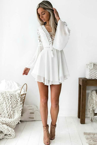 Envisioning Bliss Dress - Small / White