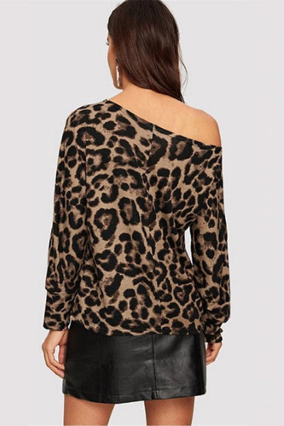 Gelina Leopard Top - Tops