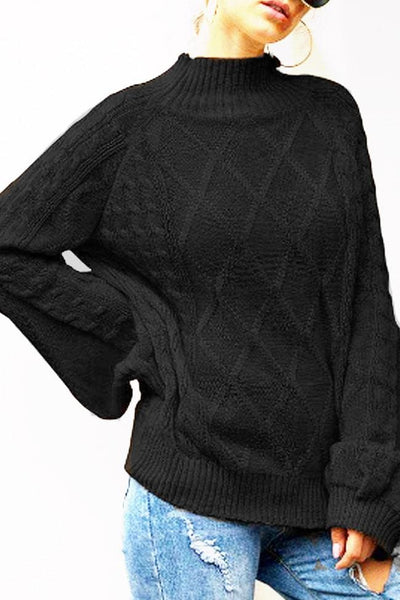 Harlow Sweater - Small / Black - sweater