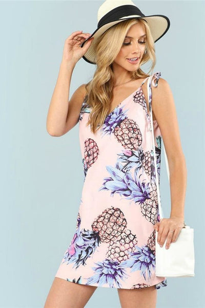 Jetset Pineapple Dress