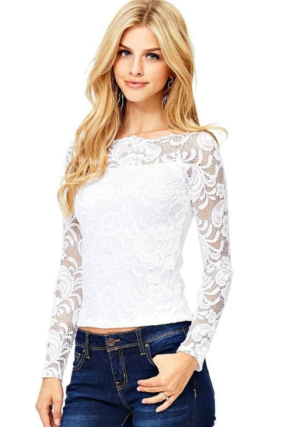 Love Song Lace Top - Tops