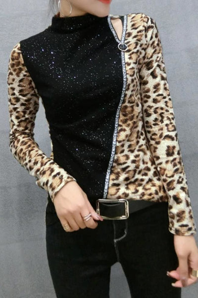Nalani Leopard Top - Tops