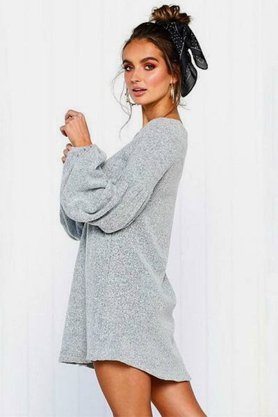 Olivia Sweater Dress - sweater