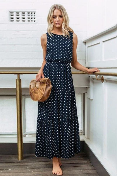 Parker Polka Dot Maxi Dress - Dress