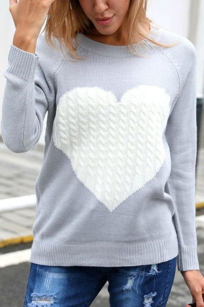 Queen of Hearts Sweater - sweater