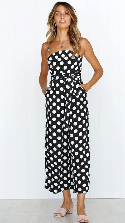 Saltwater and Sun Dot Jumpsuit