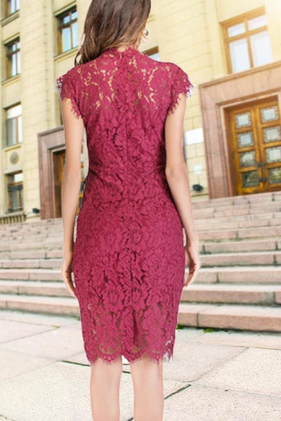 Sanford Lace Dress - Dress