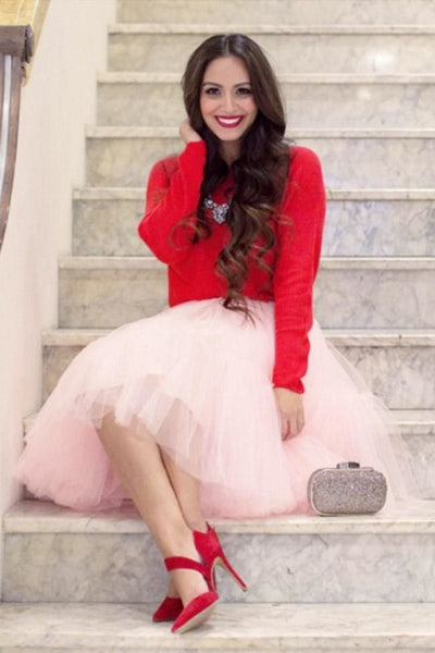 Serendipity Tulle Skirt - Regular / Pink - Dress