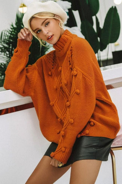 Sirolo Turtleneck Sweater - sweater