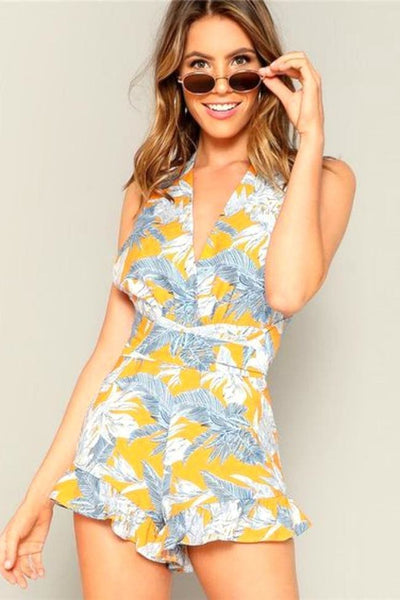 Sweet As Summer Floral Romper