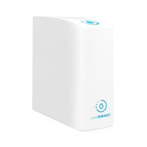 LeakSmart Smart Home Hub 3.0 product image, angled on a white background.