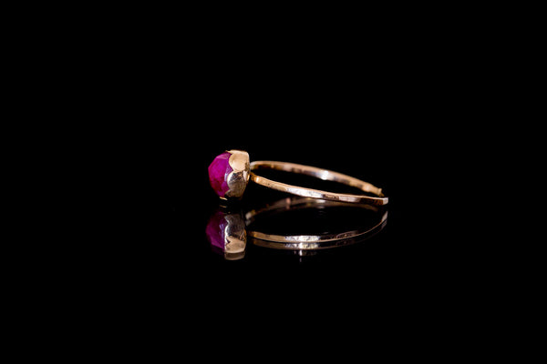 Ruby Ring 14K & 18K Gold