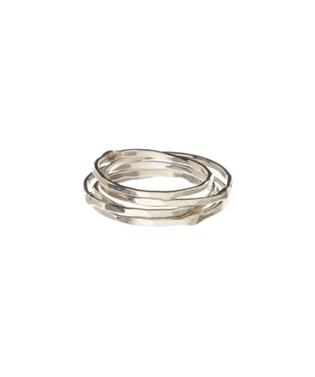Party of 5 Stacking Rings
