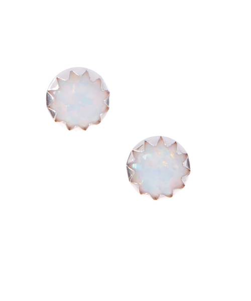 Opalescent Glass Studs