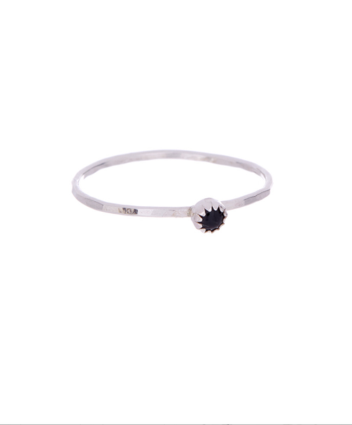 Onyx Stacking Ring