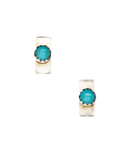 Turquoise Bars Earrings