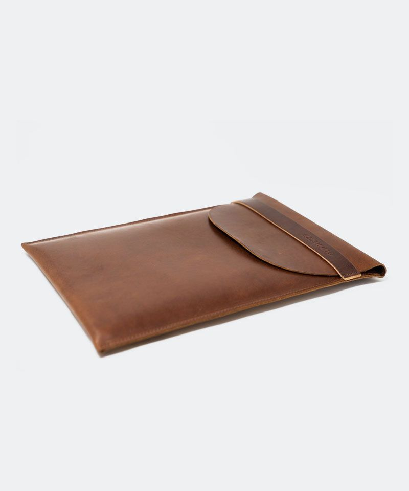 Leather Laptop Sleeve 13""