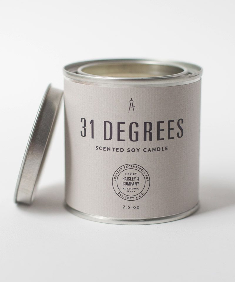 31 Degrees Candle