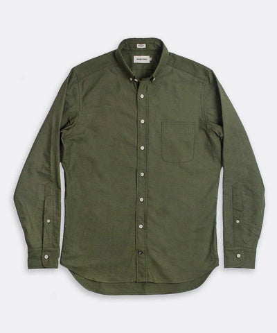 Taylor Stitch The Jack Oxford in Army