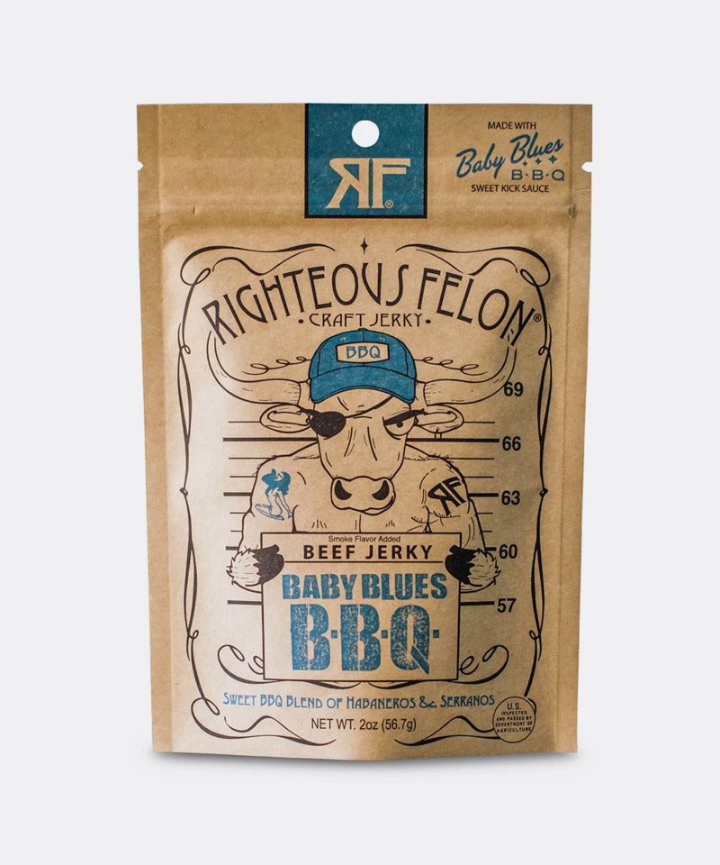 Baby Blues BBQ Beef Jerky