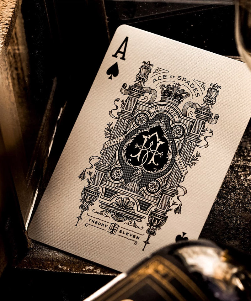 Black Hudson Playing Cards