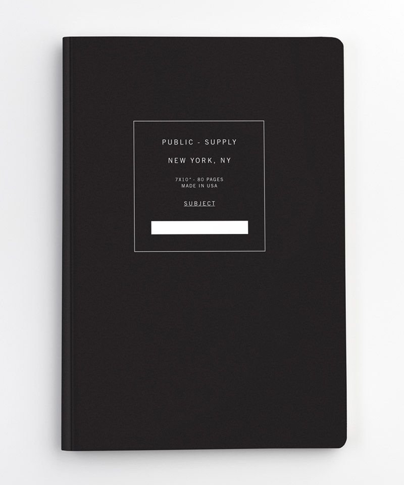 "7""x10"" Ruled Paper Notebook"