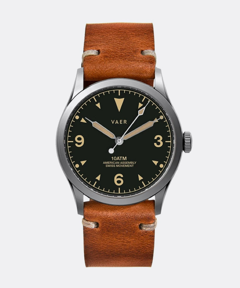 C3 Tradition Watch in Black