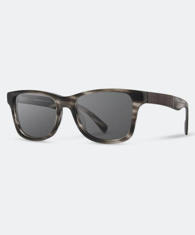 Canby Sunglasses in Matte Grey Elm Burl