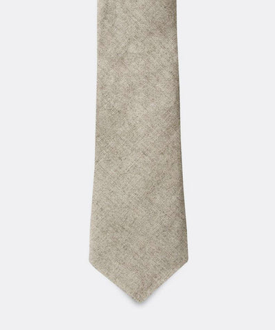 The Cinnamon Kiwi Linen Tie