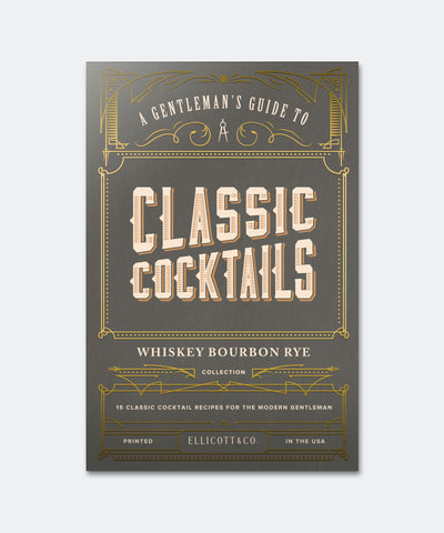 Classic Cocktails Whiskey Cards