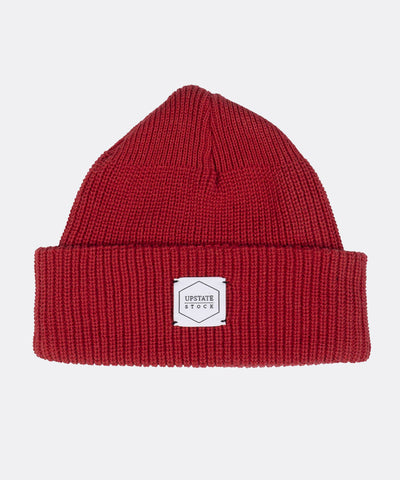 Eco-Cotton Watchcap in Cherry