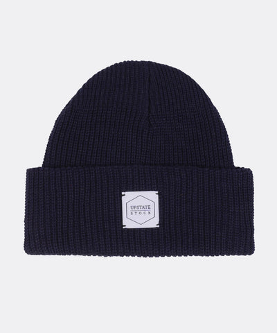 Eco-Cotton Watchcap in Navy