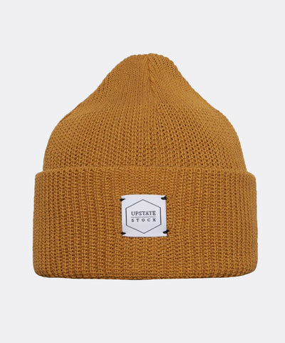 Eco-Cotton Watchcap in Ochre