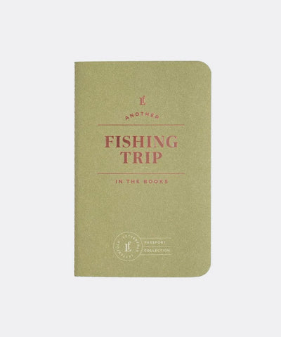 Fishing Trip Passport