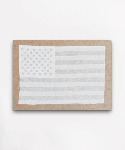 Hammerpress White Flag Postcard