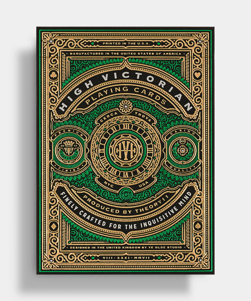 High Victorian Luxury Playing Cards