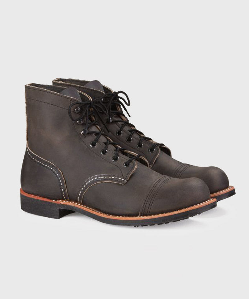 Iron Ranger Boot in Charcoal Rough & Tough