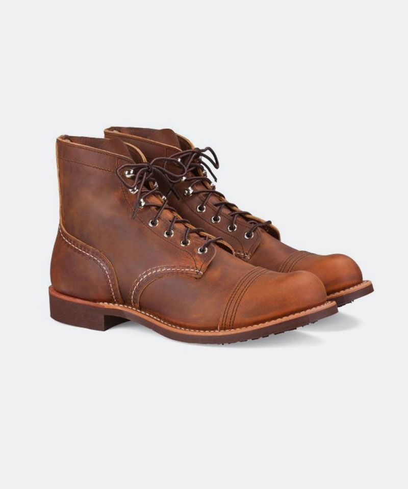Iron Ranger Boot in Copper Rough & Tough