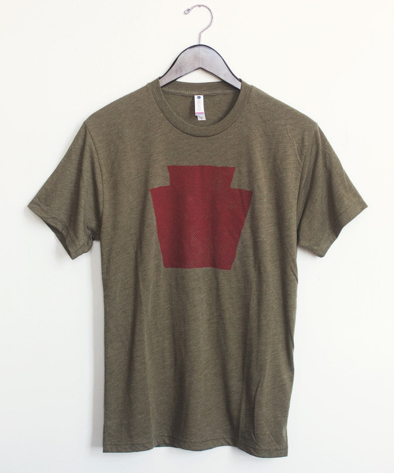 Keystone T-Shirt in Army