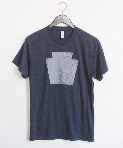 Keystone T-Shirt in Vintage Navy
