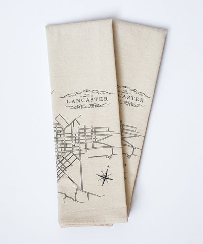 Lancaster Tea Towel
