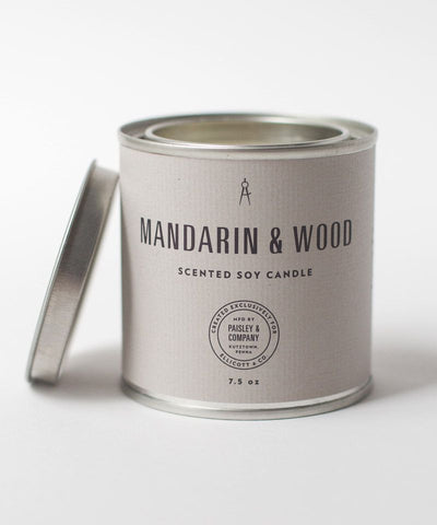 Mandarin & Wood Candle