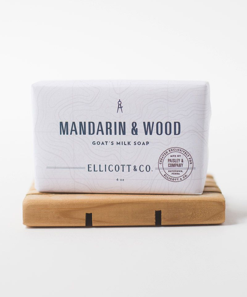 Mandarin & Wood Bar Soap