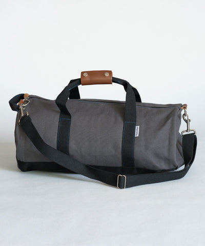 Gray Duffel Bag