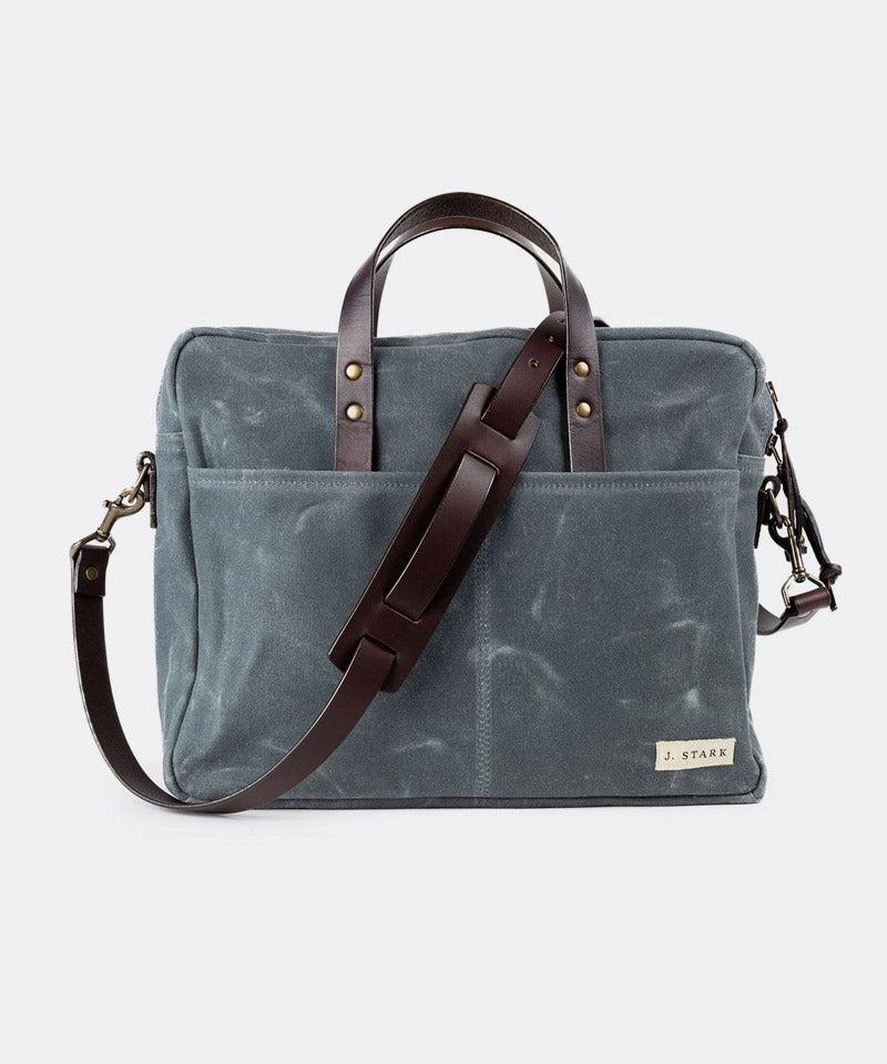 Prospect Briefcase in Charcoal