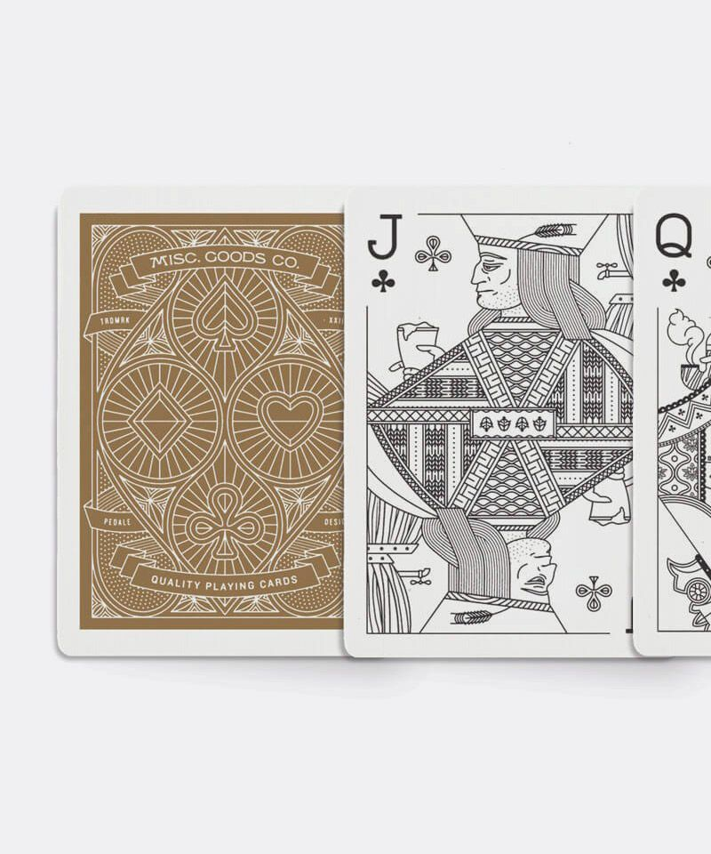 Misc. Goods Co. Playing Cards in Red