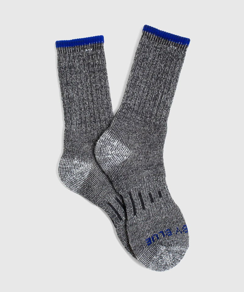 SoftHemp™ Trail Sock in Cobalt Blue