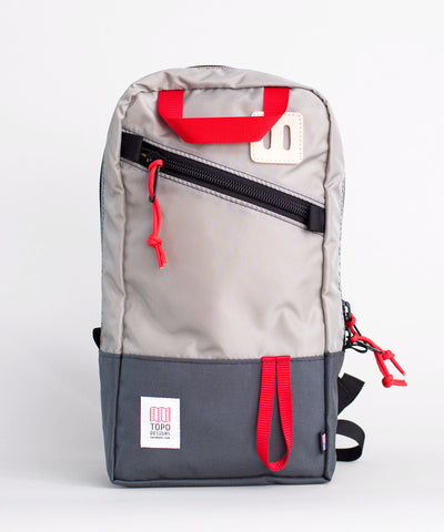 TOPO Designs Trip Pack Silver/Charcoal