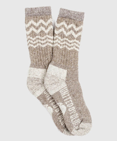 Ultimate Bison Sock in Brown