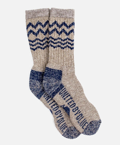 Ultimate Bison Sock in Navy